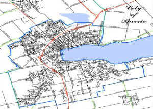 City of Barrie map