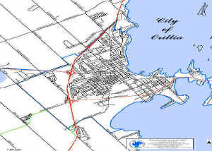 City of Orillia Map